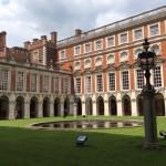 Фото Лондона: дворец Хэмптон Корт