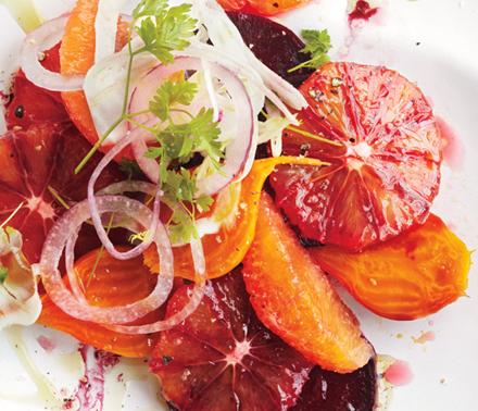 Салат с грейпфрутами