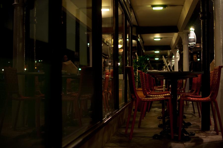 Ресторан в St Katherine's Dock