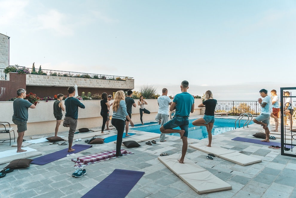 Wellness retreat in Europe